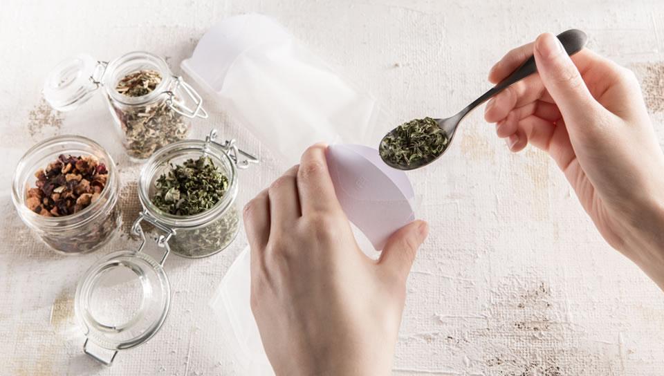 Teefilter für losen Tee zum Befüllen - TeaEtui