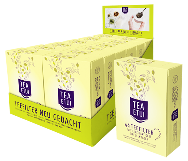 Teefilter neu gedacht - TeaEtui